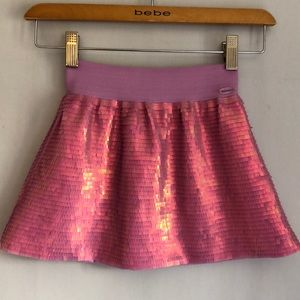 American Girl sequin layered skirt size small